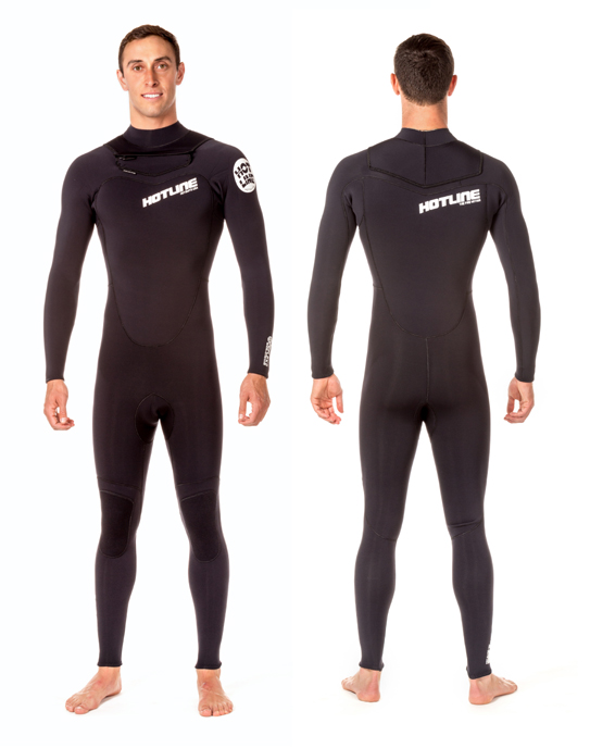 Mens Reflex 2.0 All 3mm Wetsuit -  Black