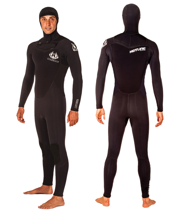 Mens Reflex 2.0 5/4mm Hooded Wetsuit