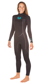 Womens BZ 4.3mm Backzip Wetsuit - AVAILABLE APPROX. DEC. 19TH