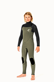 Junior Reflex Chest Zip 4/3mm Wetsuit